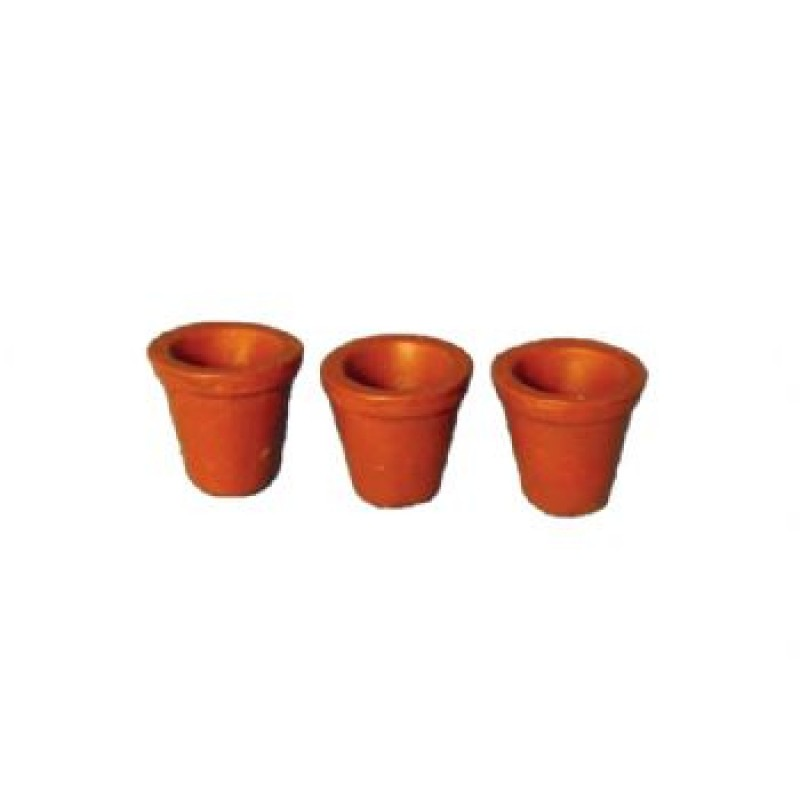 Small Flower Pot, 3 pieces