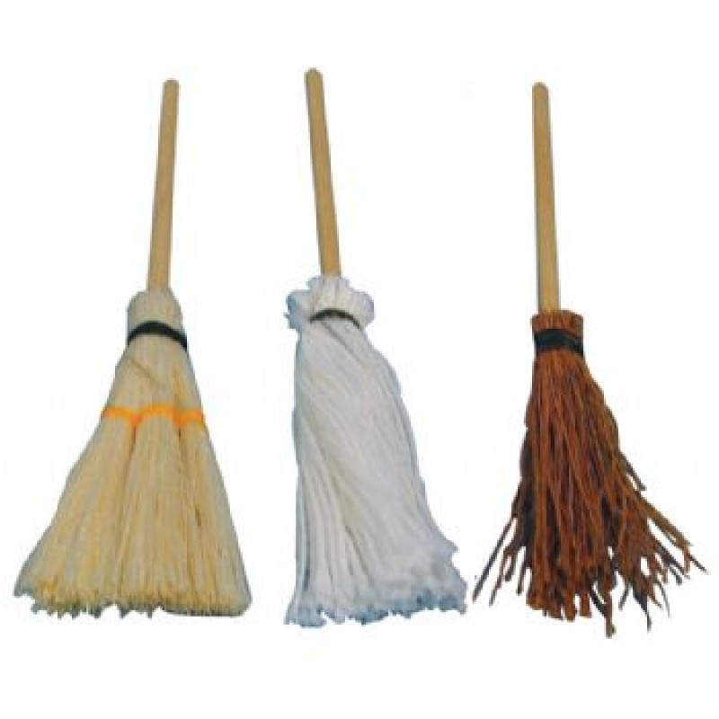 Broomsticks, 3 pieces