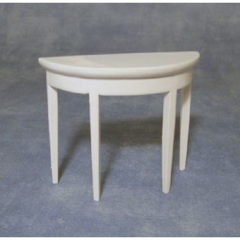 Small Hall Table White