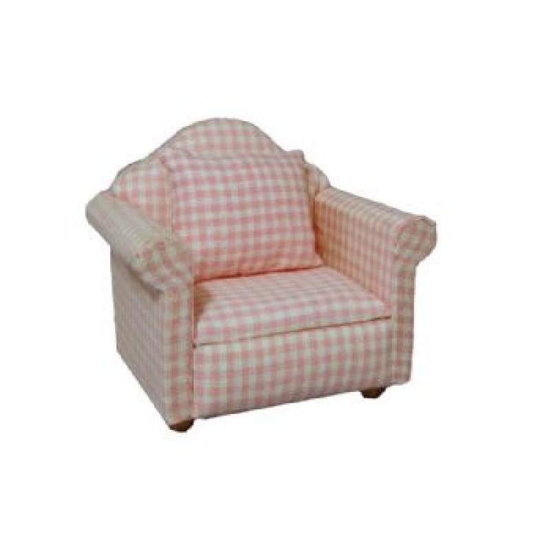 Pink Pattern Armchair