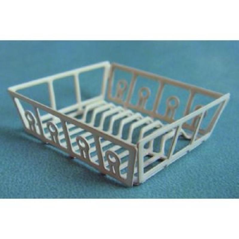 Metal' Sink Plate Rack