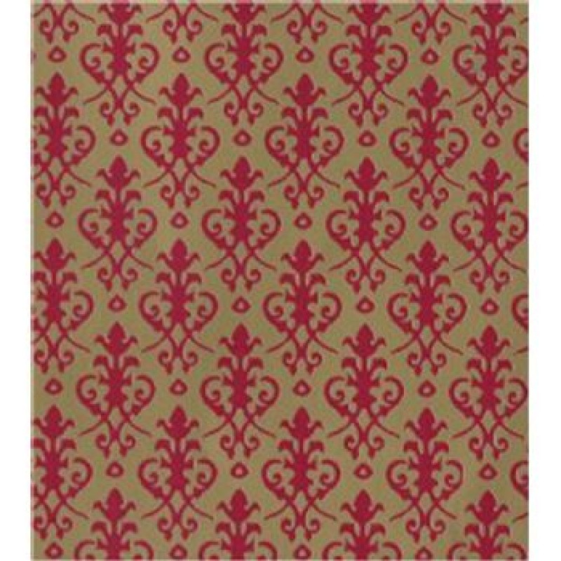 Victorian Red/Gold Wallpaper