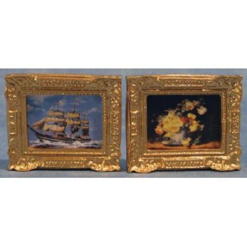 Rectangular Pictures, 2 pieces