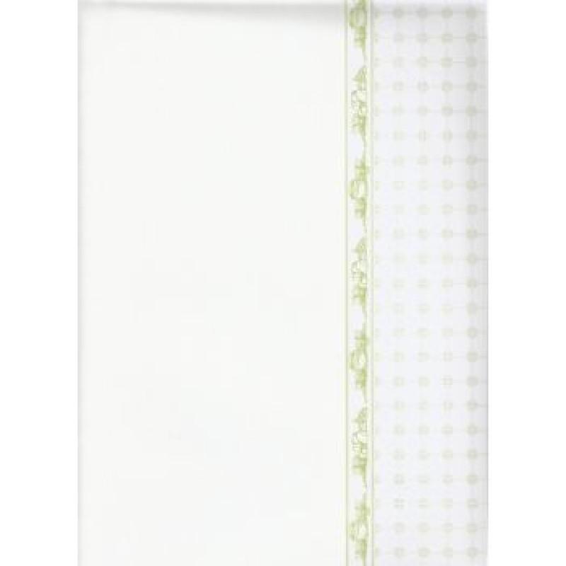 Mrs Beeton Green Wallpaper