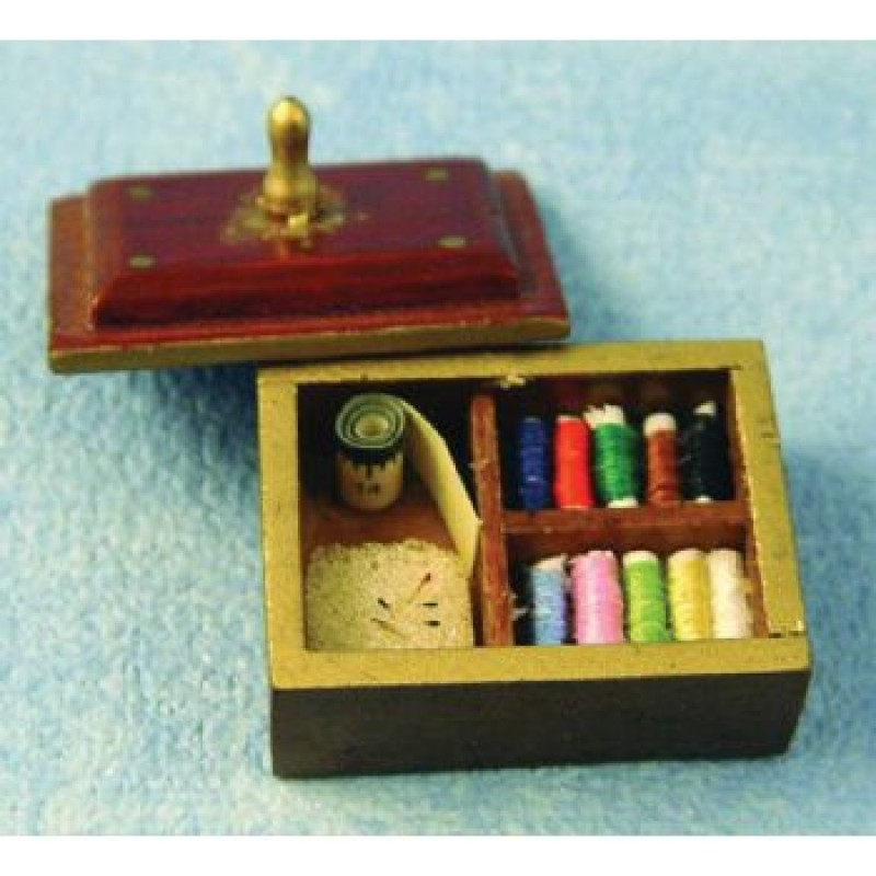 Sewing Box with Lid