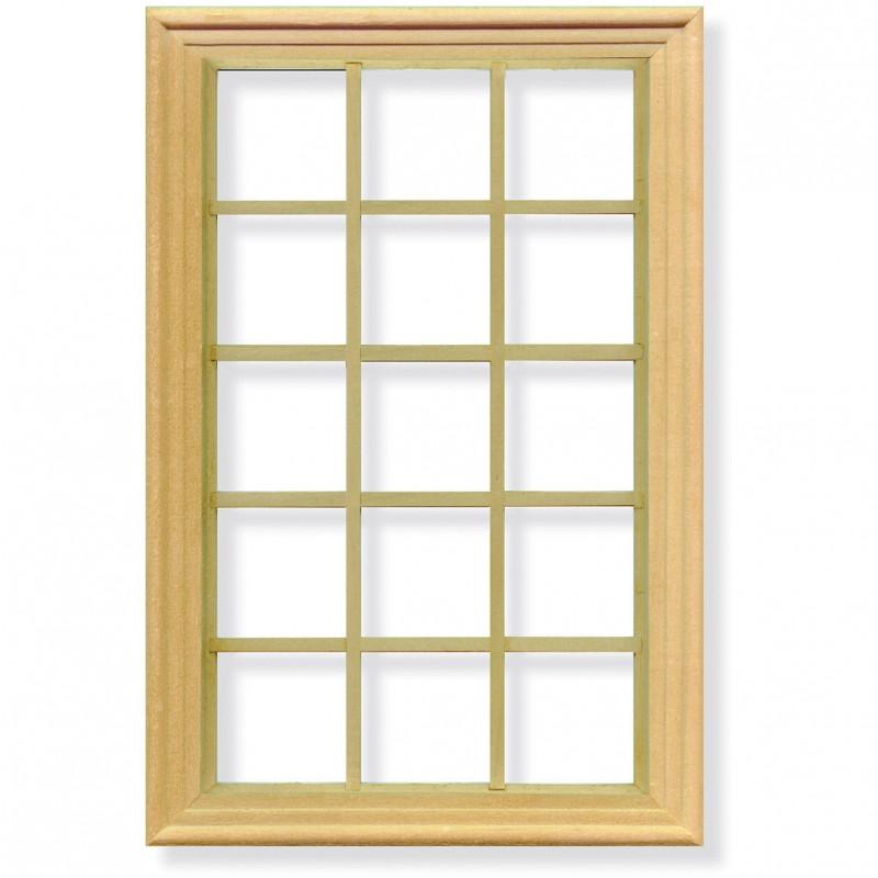 Fifteen Pane Window Frame