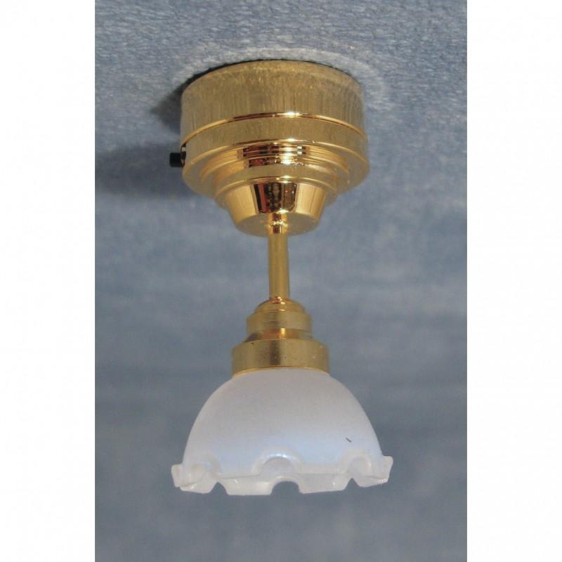 LED pie crust ceiling light