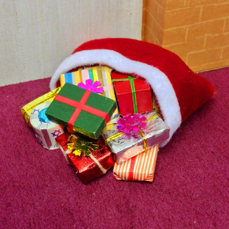 Sack of Christmas Presents