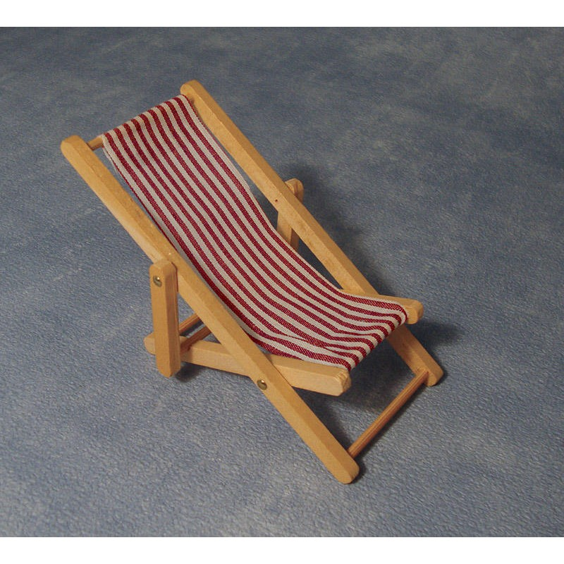 Deckchair - Red