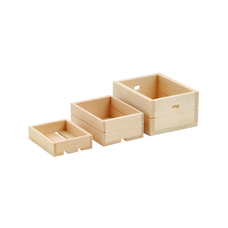 Crates, 3 pieces