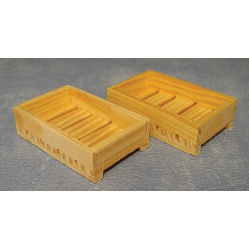 Flat Crates, 2 pieces