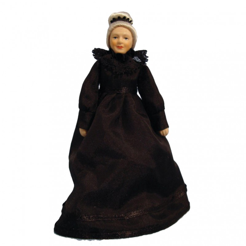 Grandmother Doll in Black Dress