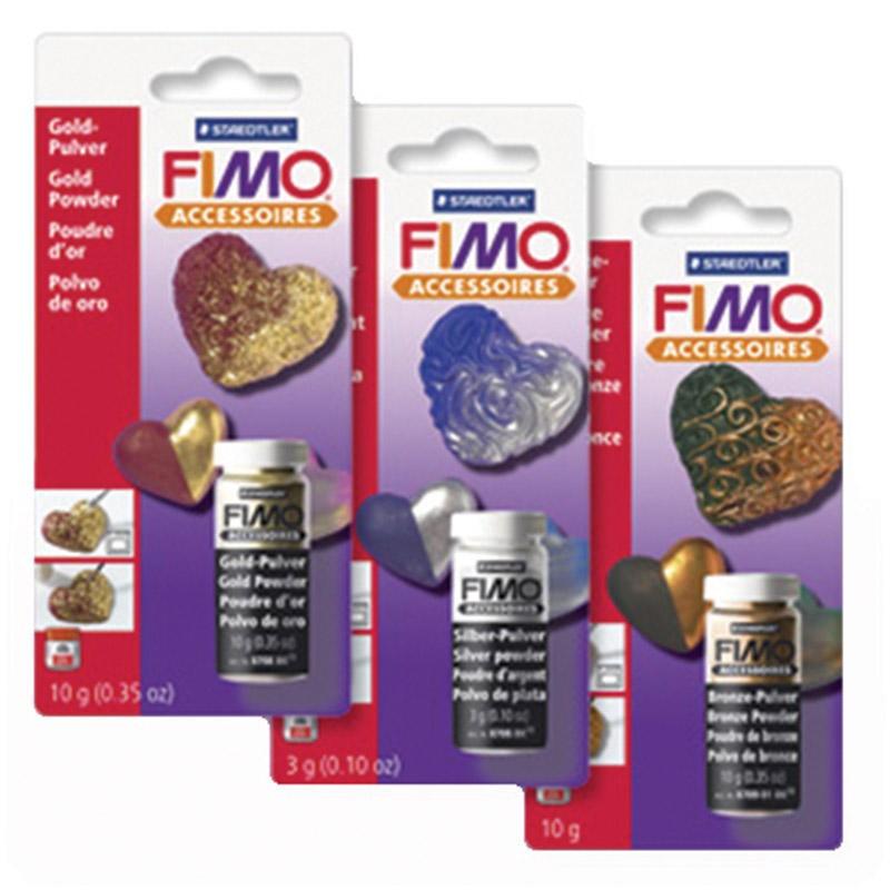 Fimo Silver Powder