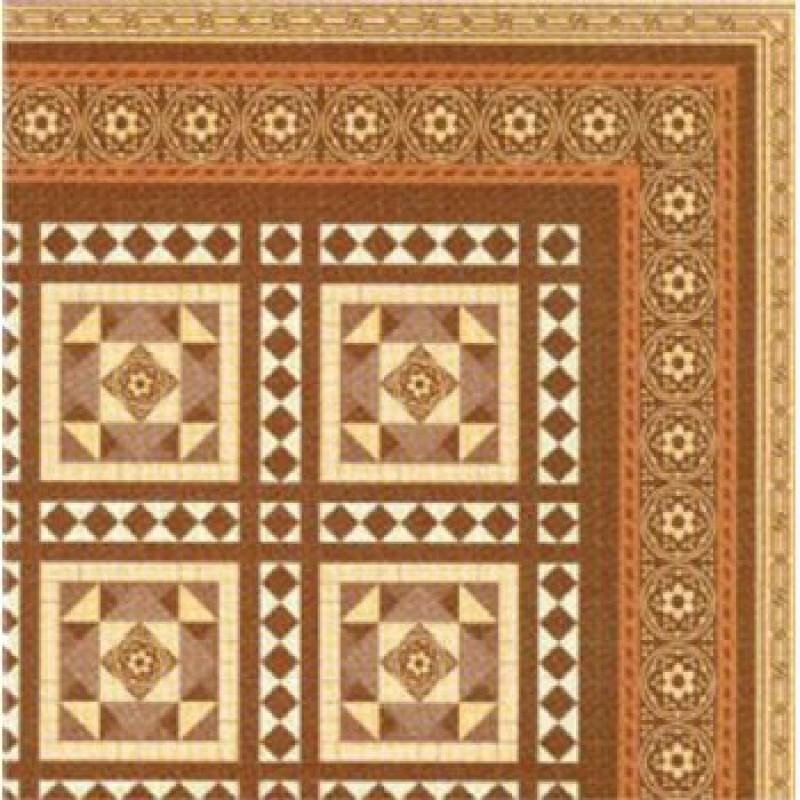 Victorian Floor Tiles Paper 1/24th