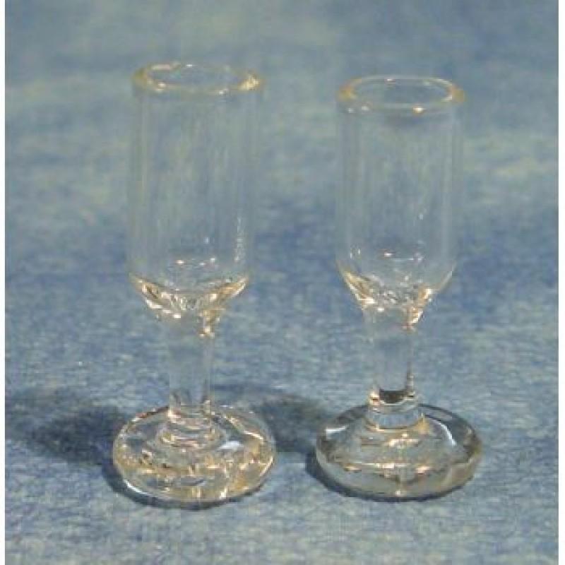 Wine Glasses, 2 pieces