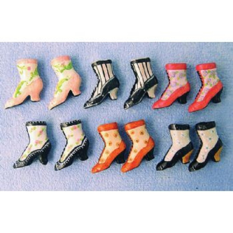 Ladies Boots, 6 pack