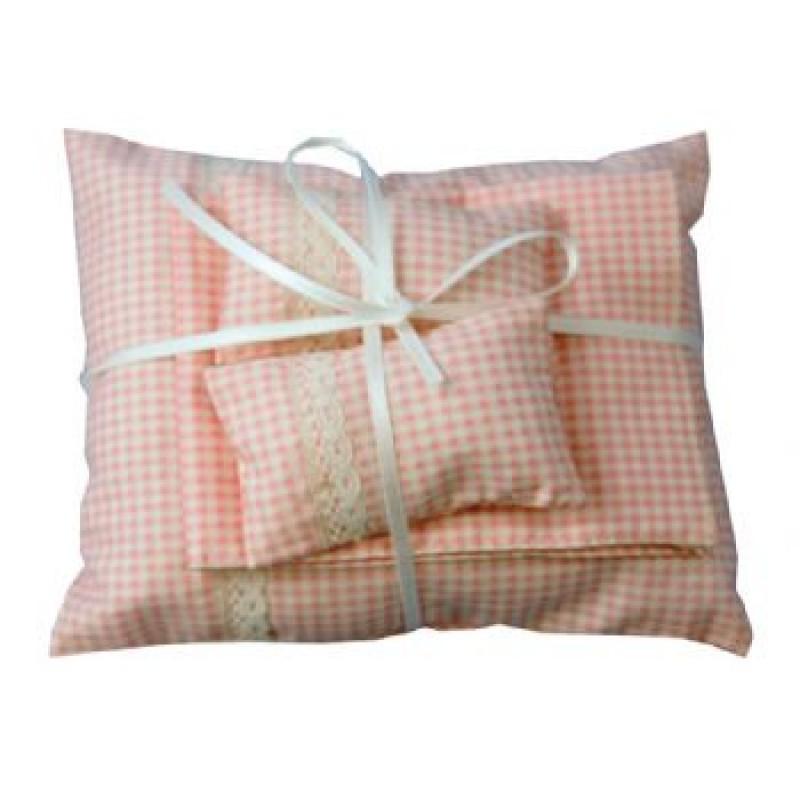 Pink Pillows and Duvet Set