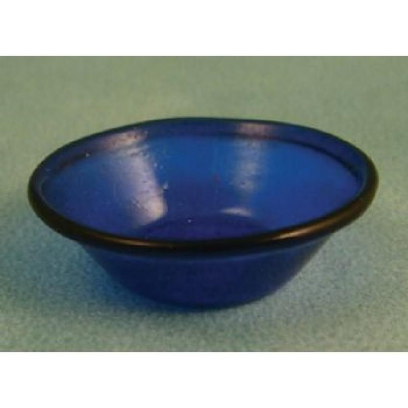 Blue Glass Bowl