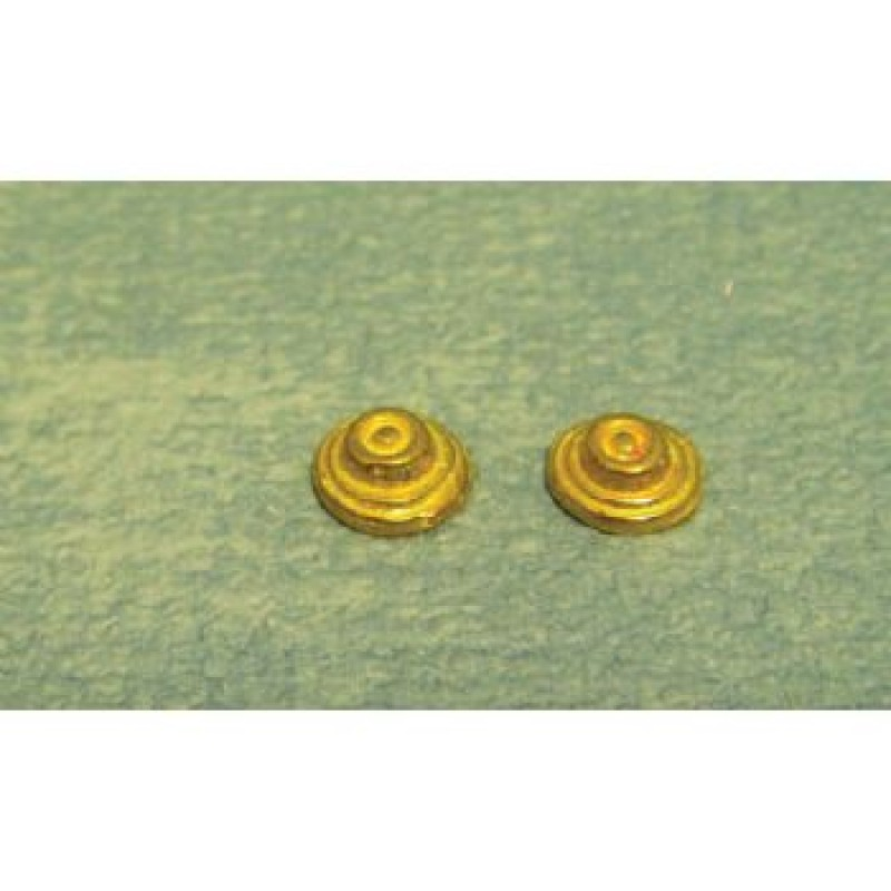 Brass Push Bell, 2 pieces