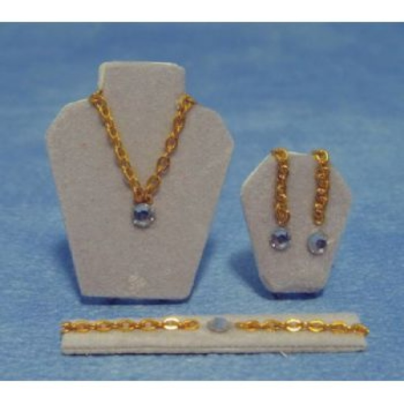 Diamond Jewellery Set