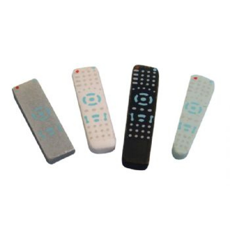 Assorted Remote Controls, 4 pieces