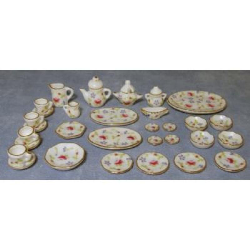 Flower Tableware Set