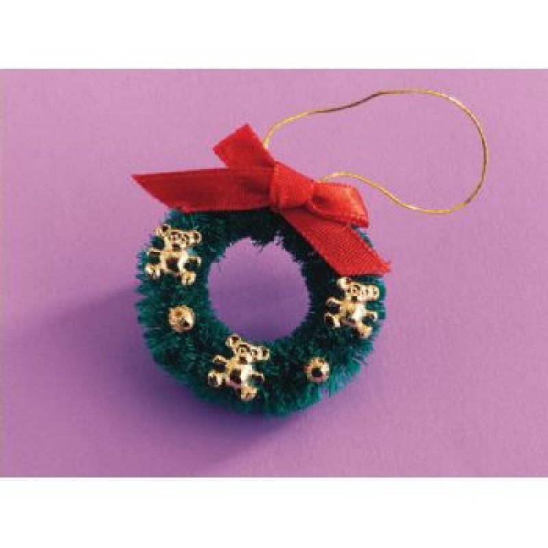 Teddy Christmas Wreath