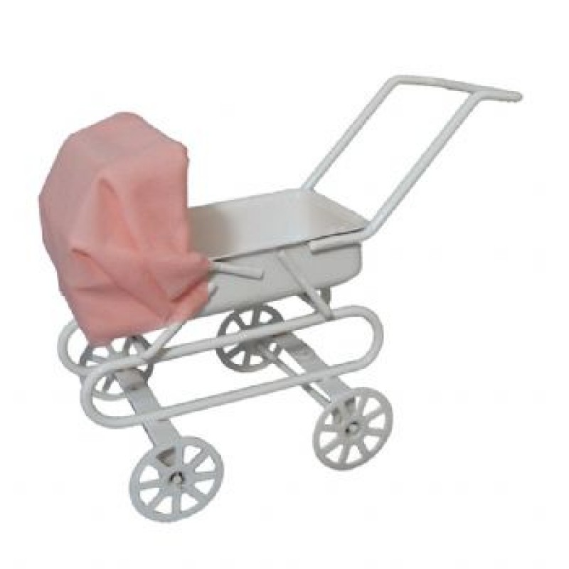 Pink Hood Pram