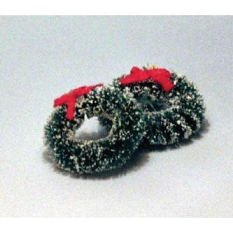 2 Christmas Wreaths