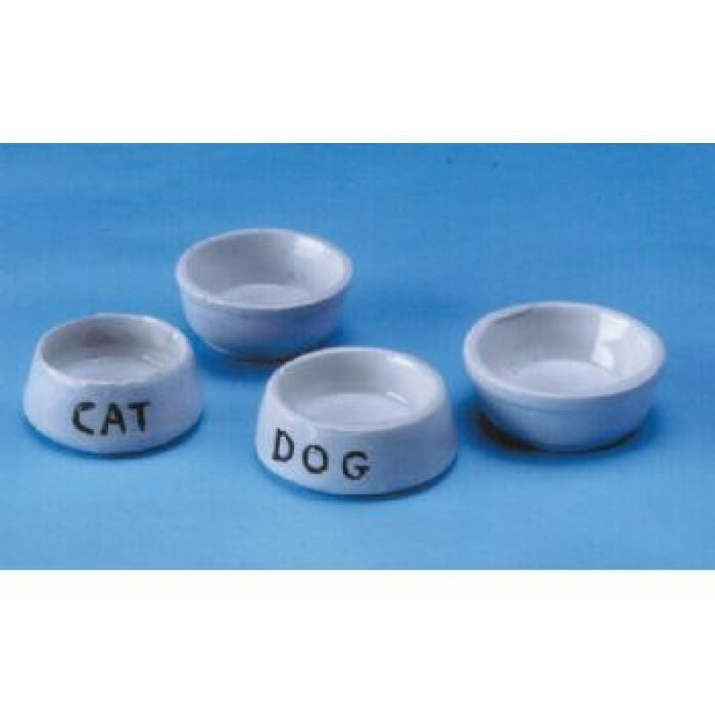 Dog Food & Water Bowl