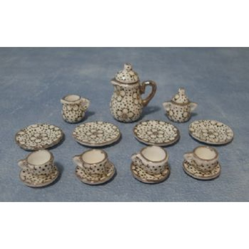 1930's Web Pattern Tea Set