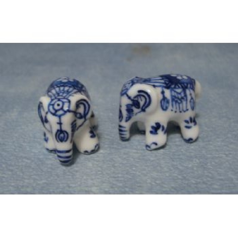 Pair of China Elephants