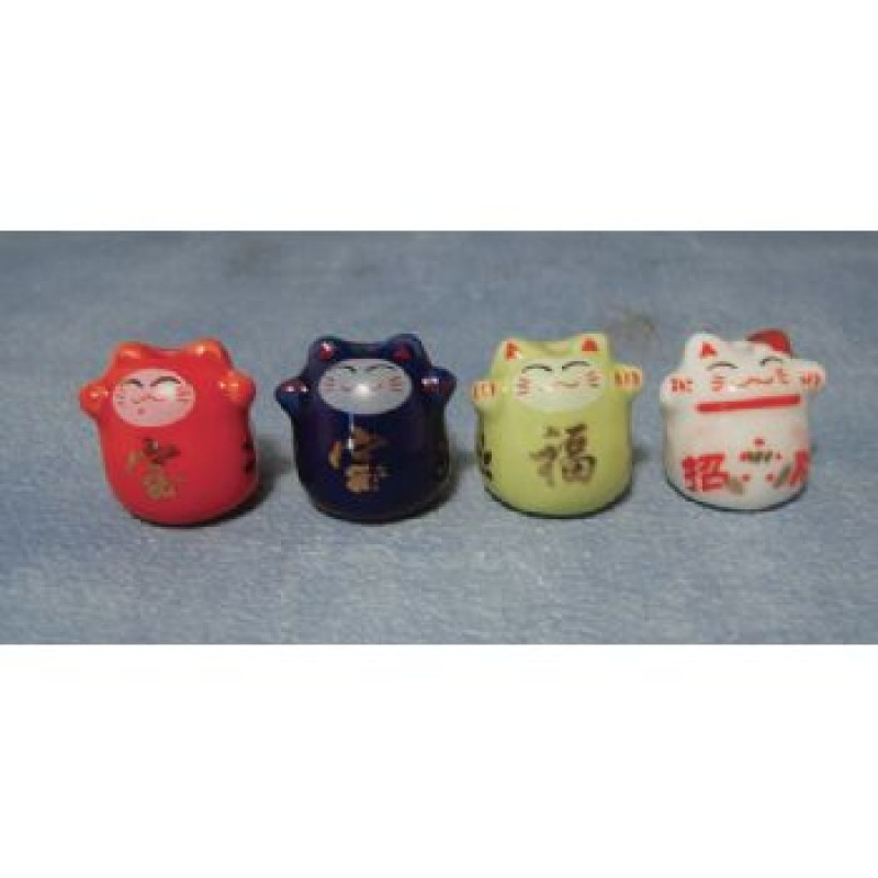 China Lucky Cats, 4 pack
