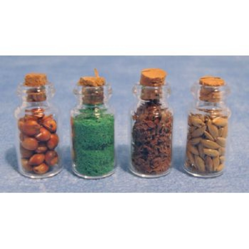Glass Jars, 4 pack