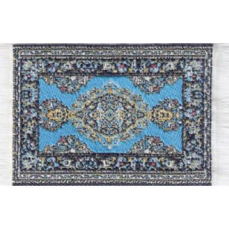 Turkish Carpet Light Blue