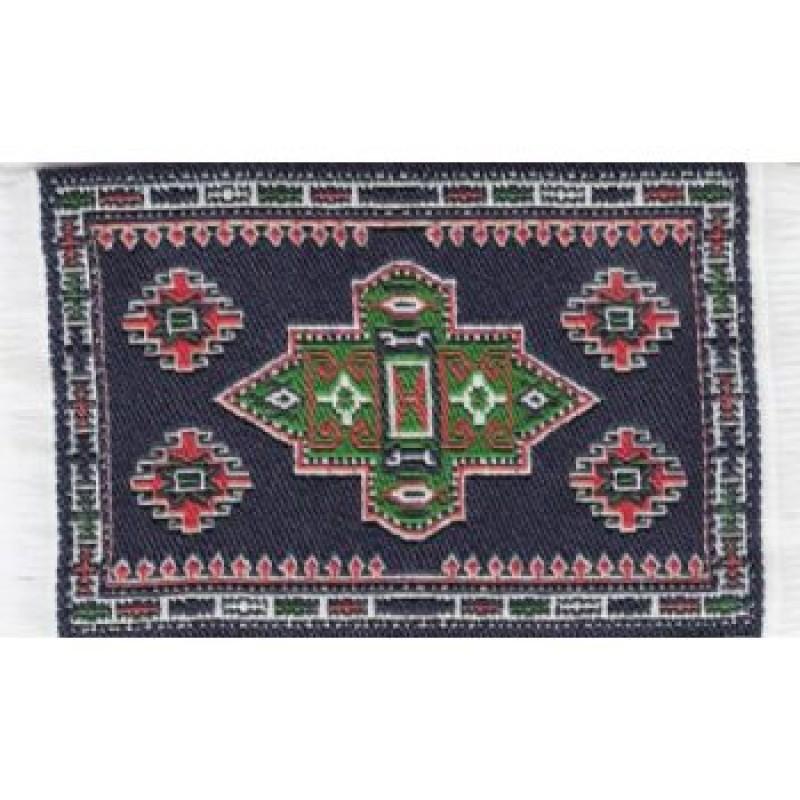 Turkish Carpet Dark Blue