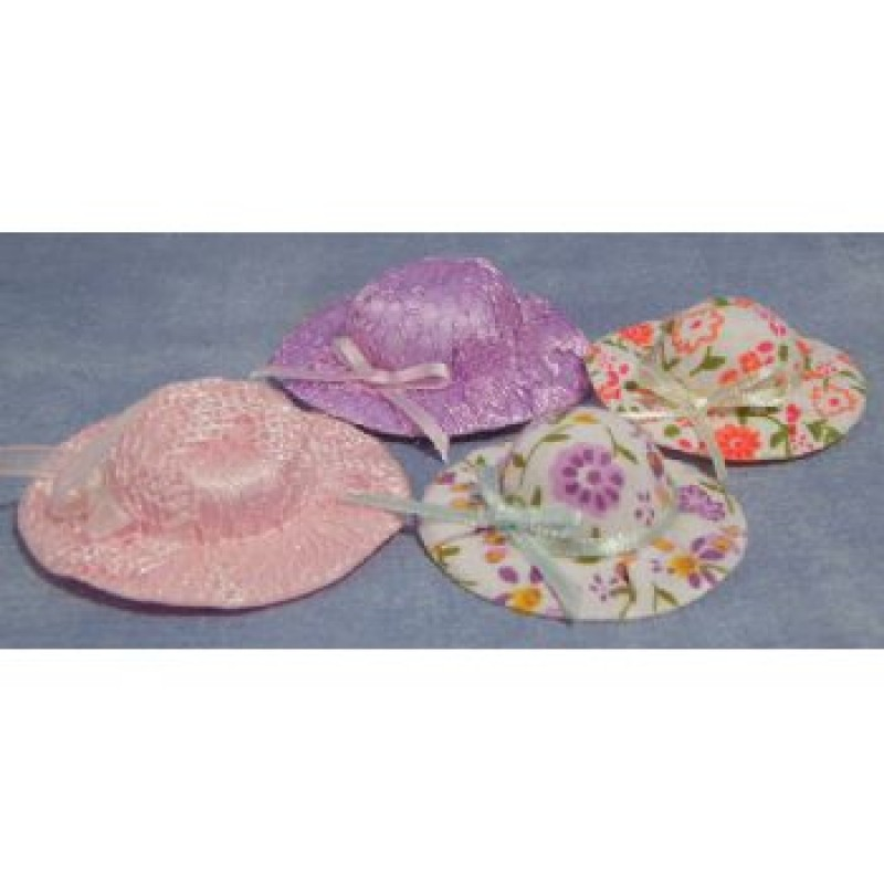 Assorted Hats, 4 pack