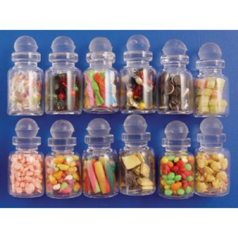 Assorted Biscuits / Sweets in a Jar, 12 pack