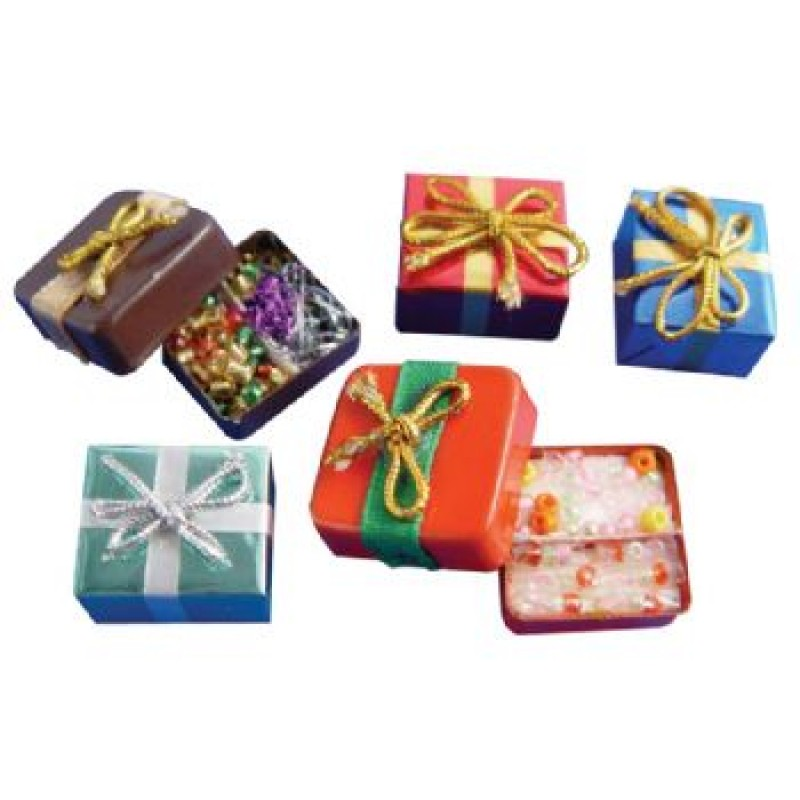 Christmas Parcels, 5 pieces