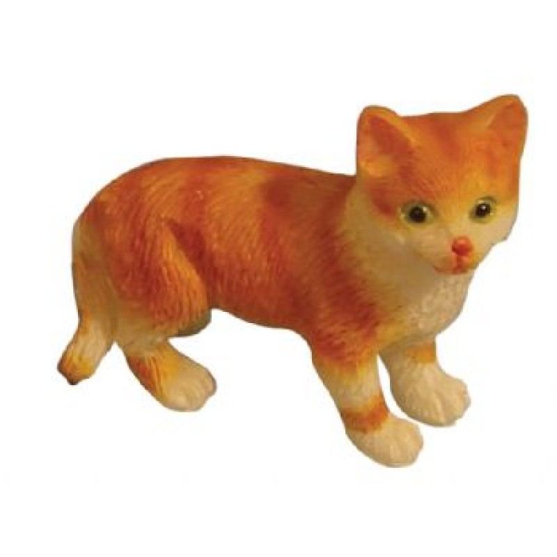 Assorted Ginger / White Cats, 5 pack