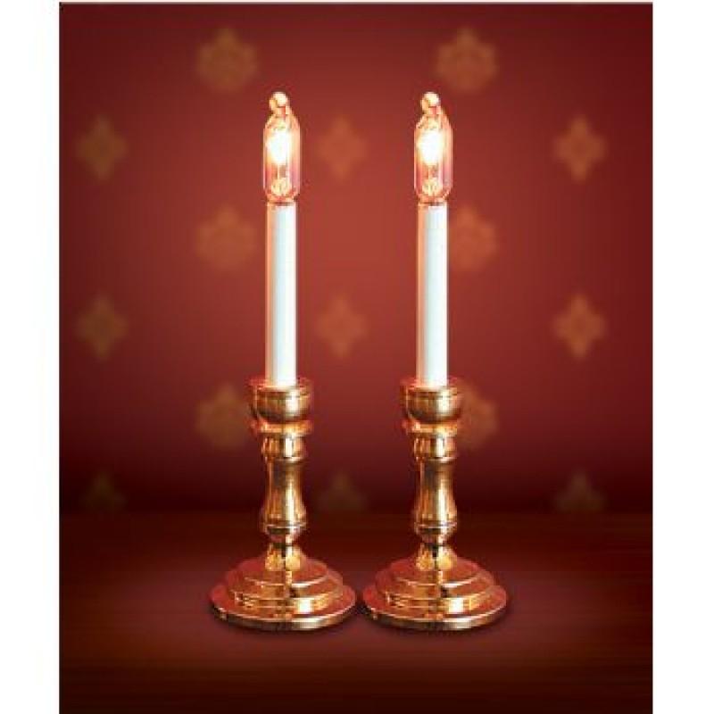 Candlesticks, 2 pieces