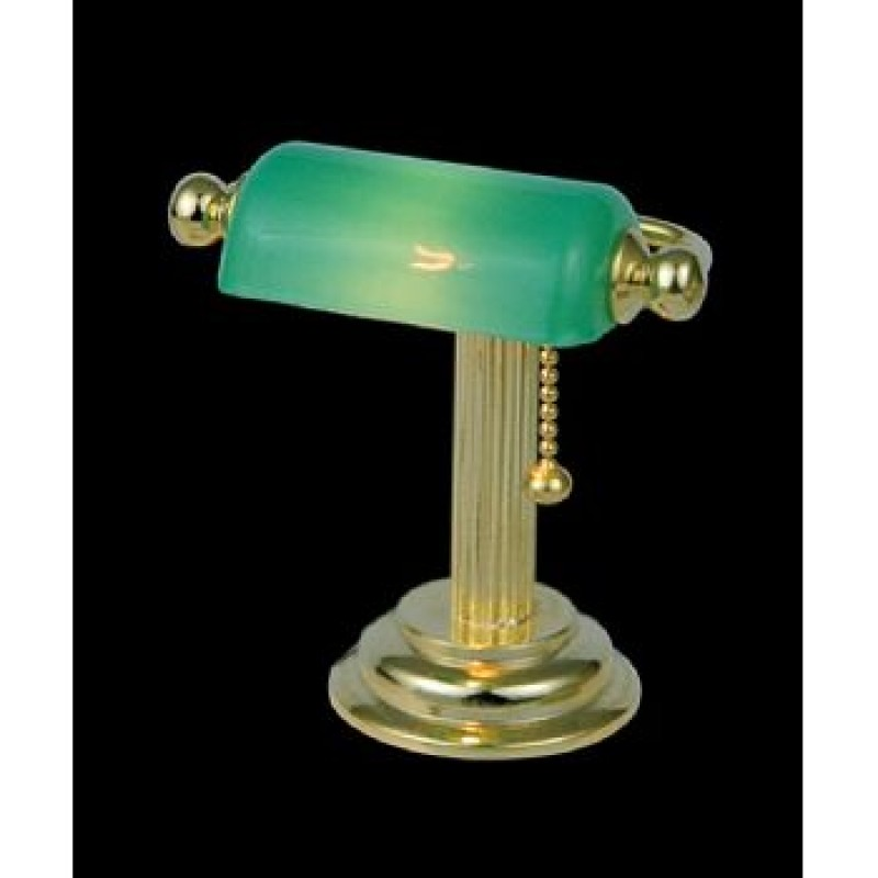 Green Shade Table Lamp