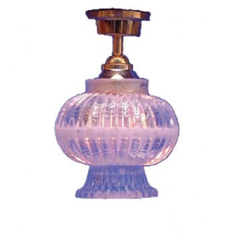Crystal Lantern Shade Ceiling Light