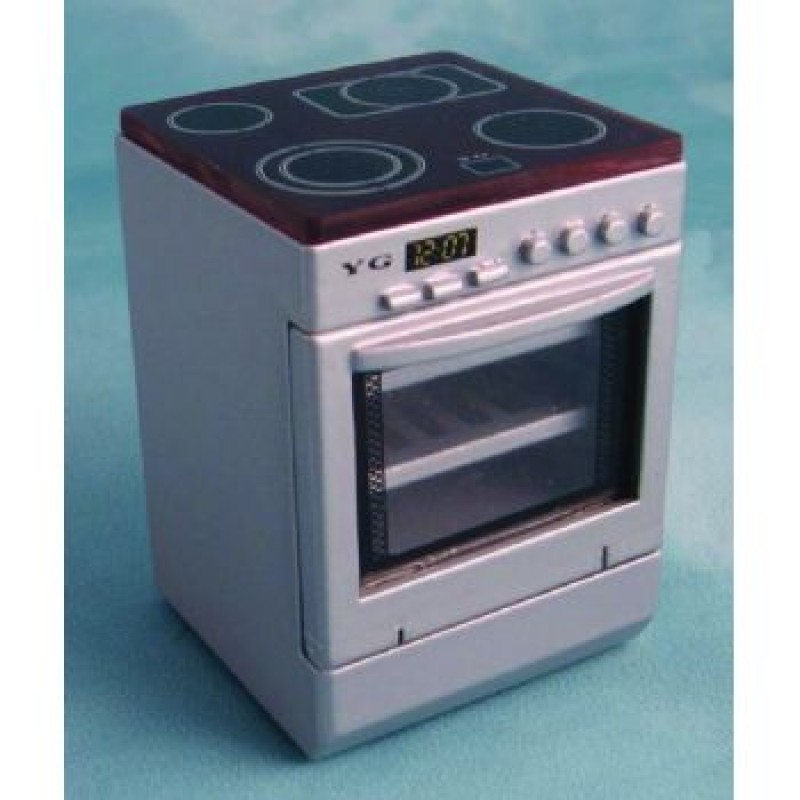Silver Hob Cooker Unit
