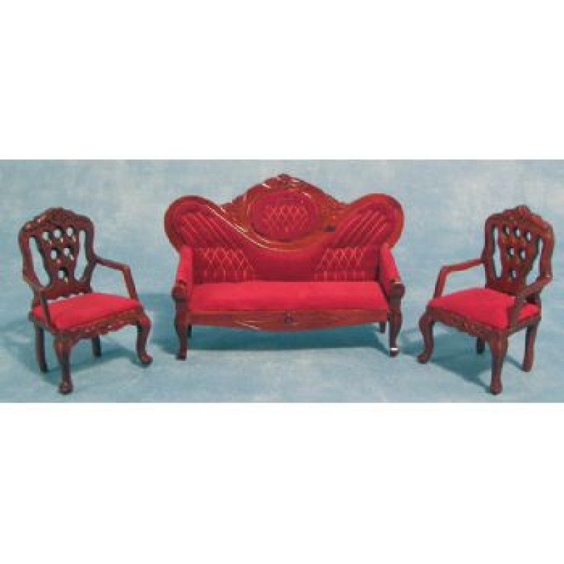 Sofa and 2 Chair Set