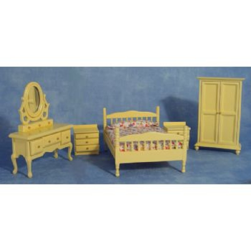 Cream Bedroom Set