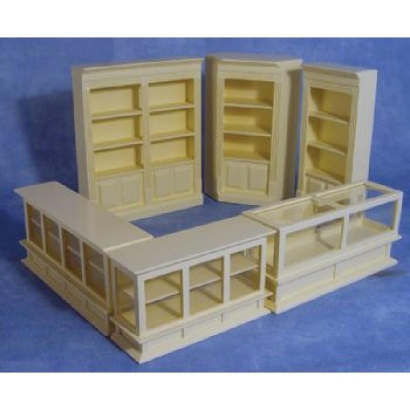 Cream Shop Set, 6 pieces