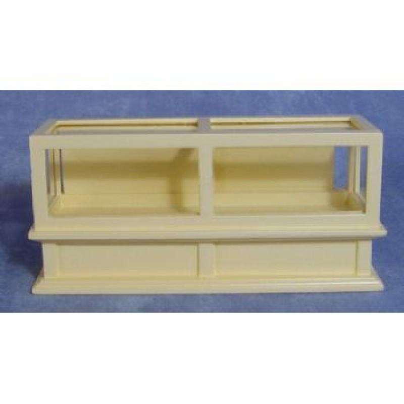 Cream Glass Counter