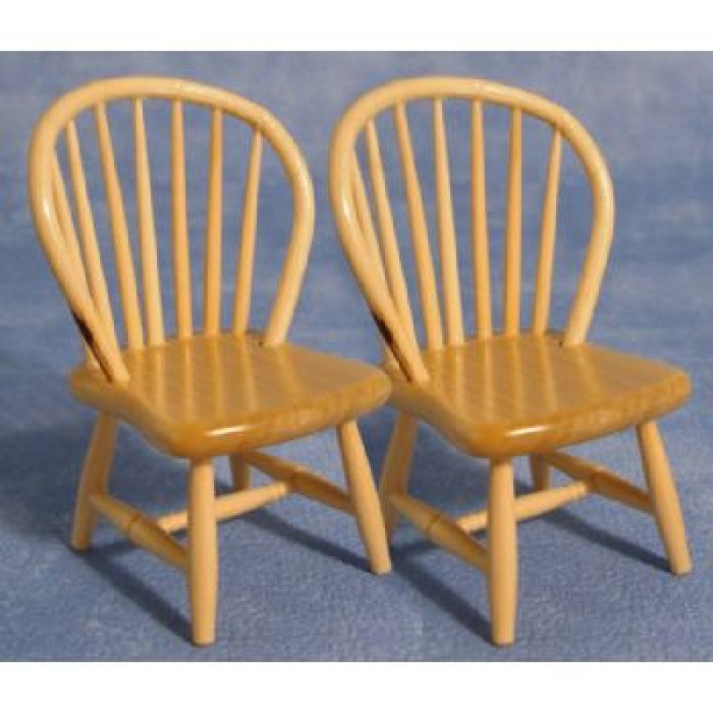 PineSpindle Back Chairs, 2 pieces