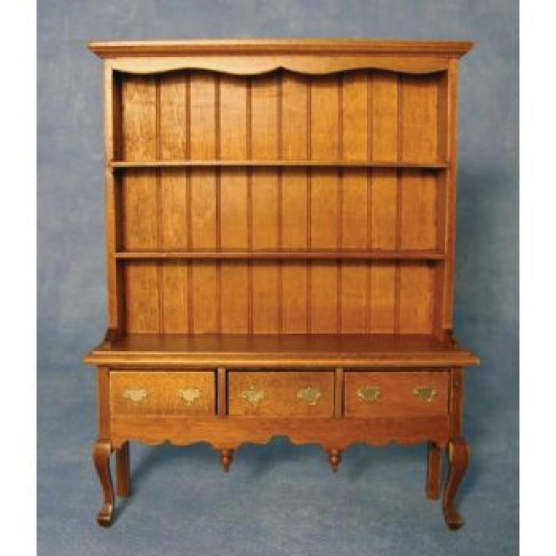 Queen Anne Oak Dresser